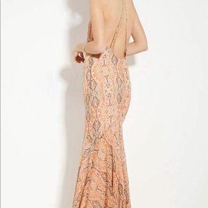 Forever 21 Mermaid Boho Maxi Dress NWT